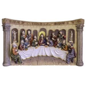 Bass-relief Last Supper - LS111