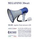 Megàfono aplificado 30 watt.
