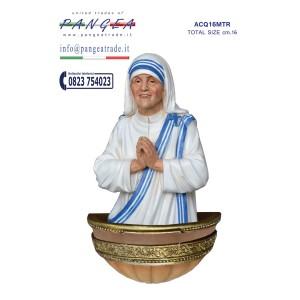 Acquasantiera - Madre Teresa di Calcutta da cm.30.